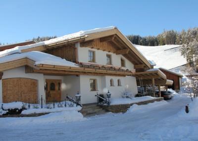 Alpenapart Schmid mit Skigebiet