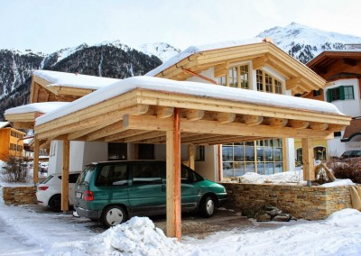 Carport Winter